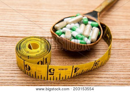 medicines in a spoon, medicine, pharmacy, medicine, diet, vitamins, fitness