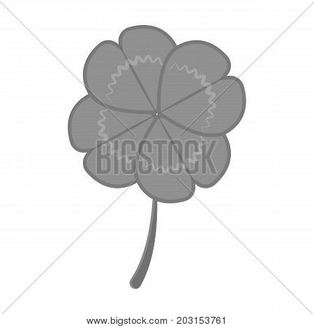 Sign, single icon in monochrome style.Sign vector symbol stock illustration .