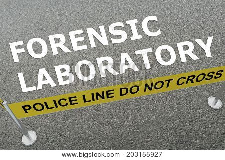 Forensic Laboratory Concept