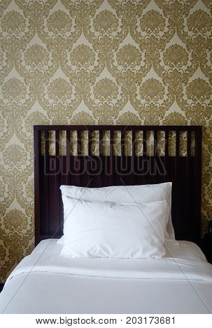 Modern Bedroom At Luxury Hotel