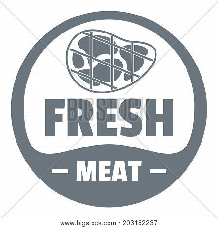 Eco fresh meat logo. Simple illustration of eco fresh meat vector logo for web design isolated on white background