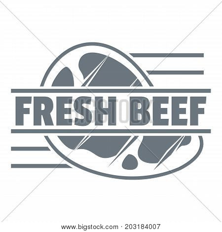 Fresh beef logo. Simple illustration of fresh beef vector logo for web design isolated on white background