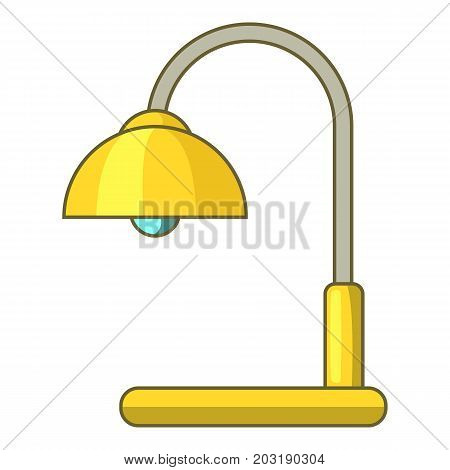 Lamp table icon. Cartoon illustration of lamp table vector icon for web