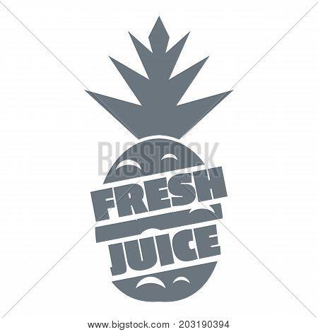 Fresh exotic juice logo. Simple illustration of fresh exotic juice vector logo for web design isolated on white background