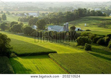 Farm Land Aerial