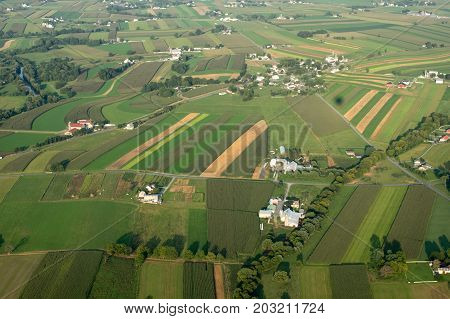 Farmland From Above