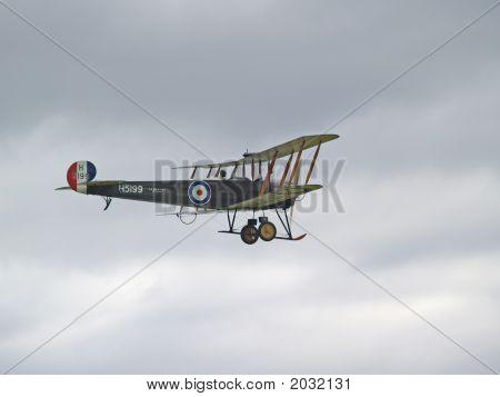 Avro 504K Flying