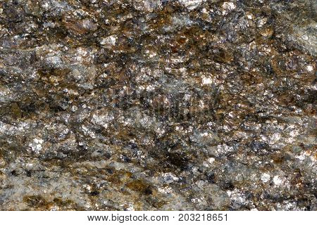 Sparkling Rock From The Mountains Of Tirol