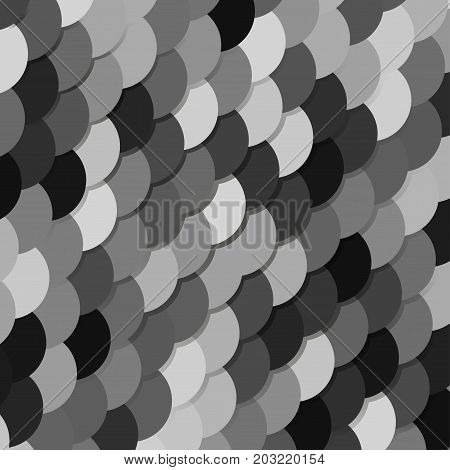 Vector abstract geometric scale background in grey colors