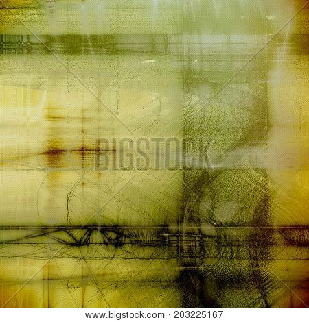 Shabby texture or background with classy vintage elements. Grunge backdrop with different col patterns: