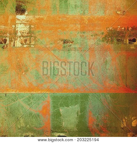 Scratched grunge background or spotted vintage texture. With different color patterns