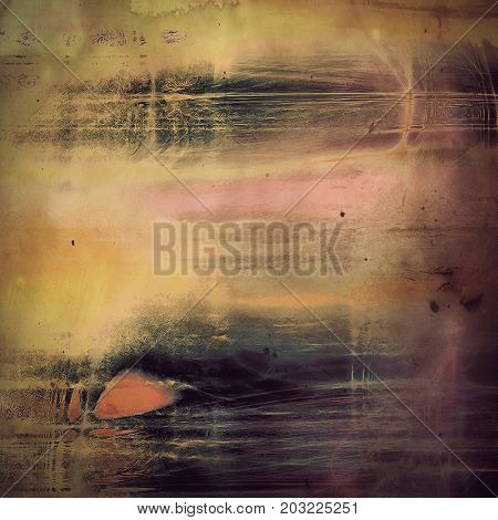 Highly detailed grunge background or scratched vintage texture. With different color pattern