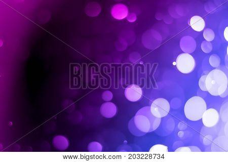 glitter vintage lights background. Purple, Blue Color
