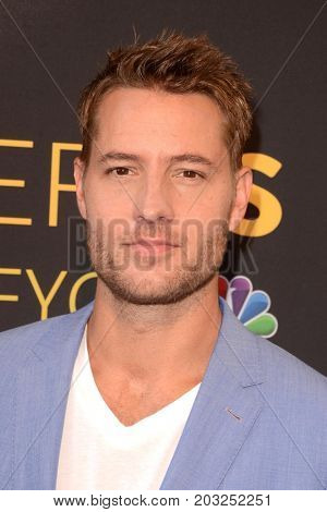 LOS ANGELES - AUG 14:  Justin Hartley at the FYC Panel Event For 20th Century Fox And NBC's