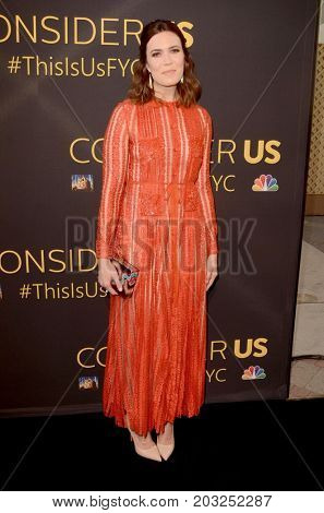 LOS ANGELES - AUG 14:  Mandy Moore at the FYC Panel Event For 20th Century Fox And NBC's