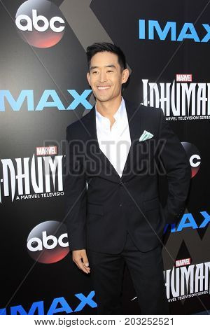 LOS ANGELES - AUG 28:  Mike Moh at the ABC and Marvel's