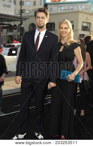 LOS ANGELES - SEP 5:  Andy Muschietti, Barbara Muschietti  at the