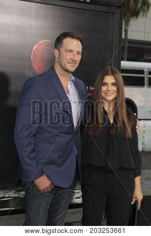 LOS ANGELES - SEP 5:  Tiffani Thiessen, Brady Smith at the