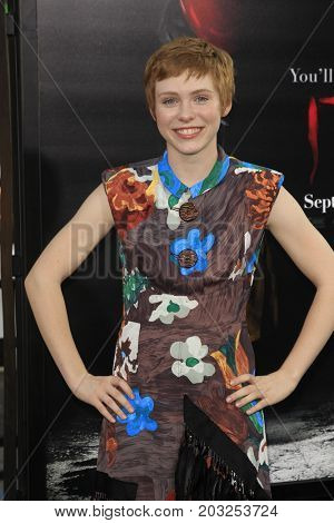 LOS ANGELES - SEP 5:  Sophia Lillis at the
