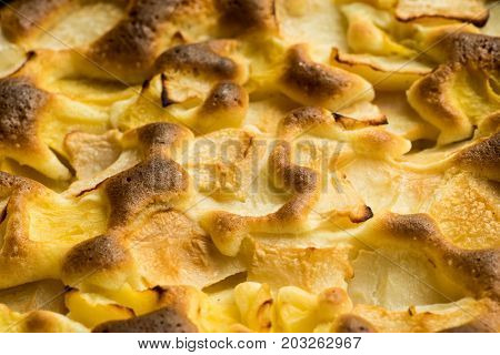French Apple Pie Tart, Ingredients - Apples and Cinnamon, Caramelized Apple Tart