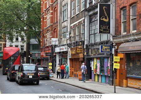 Denmark Street Shopping