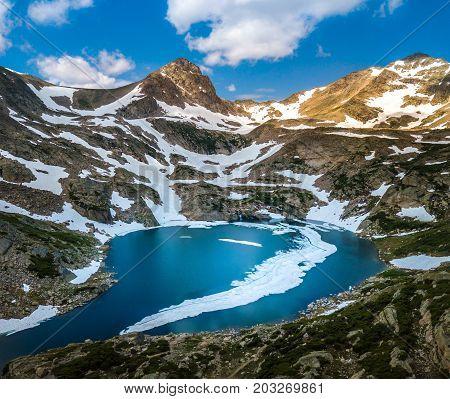 Blue Lake Mt Toll Colorado Indian Peak Wilderness