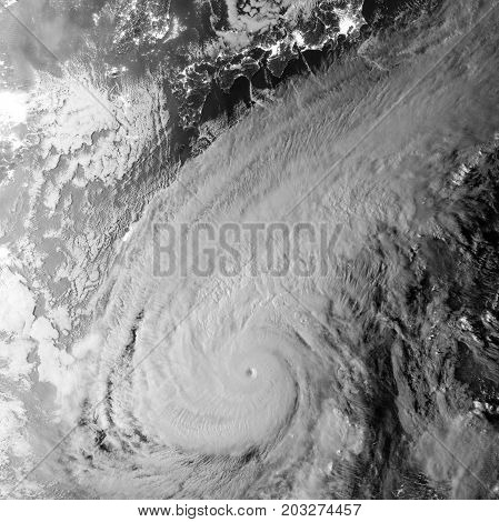 Tropical storm, hurricane. Elements of this image are furnished by NASA
