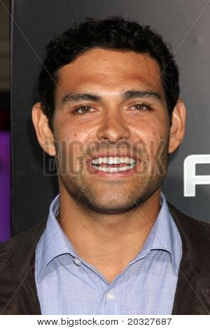 LOS ANGELES - MAY 19:  Mark Sanchez arriving at the