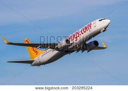 Pegasus Airlines Boeing 737 Plane