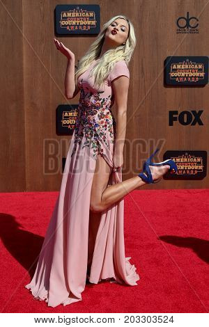 INGLEWOOD, CA - MAY 01: Singer Kelsea Ballerini attends the 2016 American Country Countdown Awards at The Forum on May 01, 2016 in Inglewood, California.