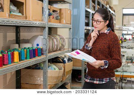 Calm Confidence Fashion Clothing Company Employee