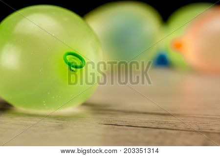 Colorful Water Ballons