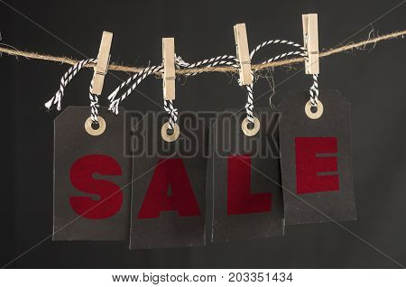Sale Hanging Tags