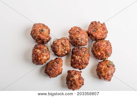 Details Of Fresh Fried Meatballs