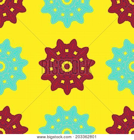 Arabesque Decor. Seamless Pattern Vector