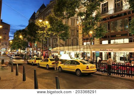 Budapest Taxi Cabs