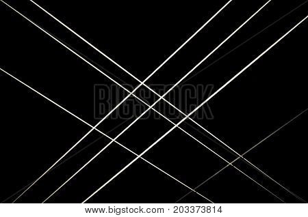 the parallel and perpendicular lines on a black background