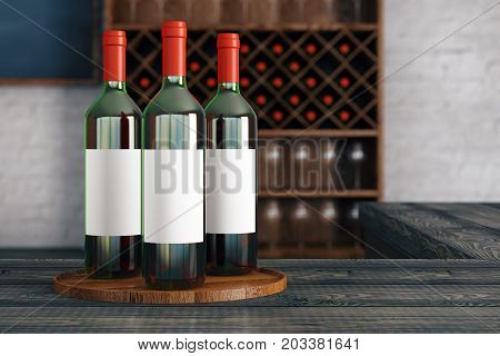 Red Wine Advertisement