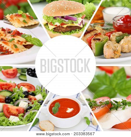 Food Collection Collage Menu Eating Drinks Eat Meal Meals Restaurant