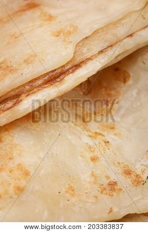 Close up image of fresh baked pastry