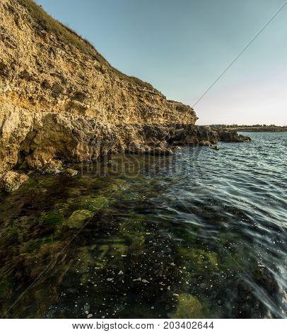 Cliffs By The Sea, Jagged Cliffs