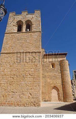San Jun Church In Aranda De Duero, Burgos Province, Spain