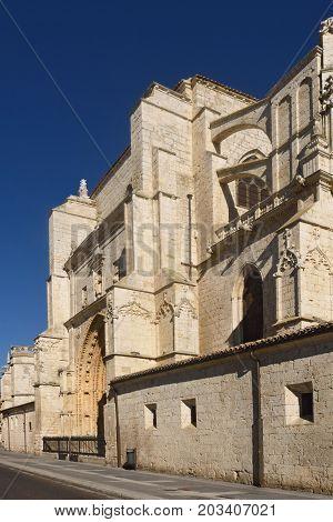 Rear Facade Of The Cathedral Of Palencia, Castilla Y Leon, Spain (los Reyes O San Juan Door)