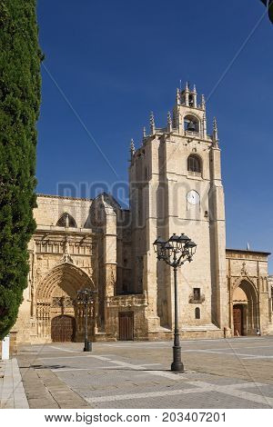 Cathedral Of San Antolin Of Palencia, Castilla Y Leon, Spain