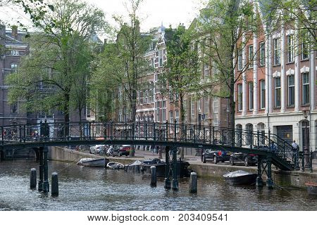 Amsterdam the capital City of the netherlands