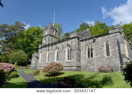 Church at Rydal in the English Lake District