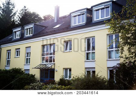 modern multi-family house in germany, rent, financing,