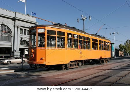 San Francisco historic StreetCar