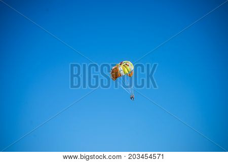 Travel Concept With Blue Sky