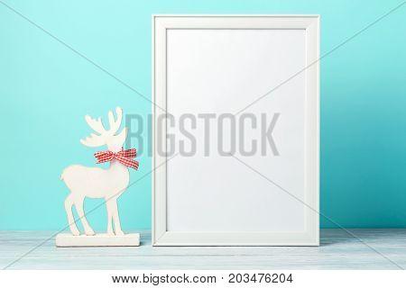 Christmas Holiday Frame Mock Up